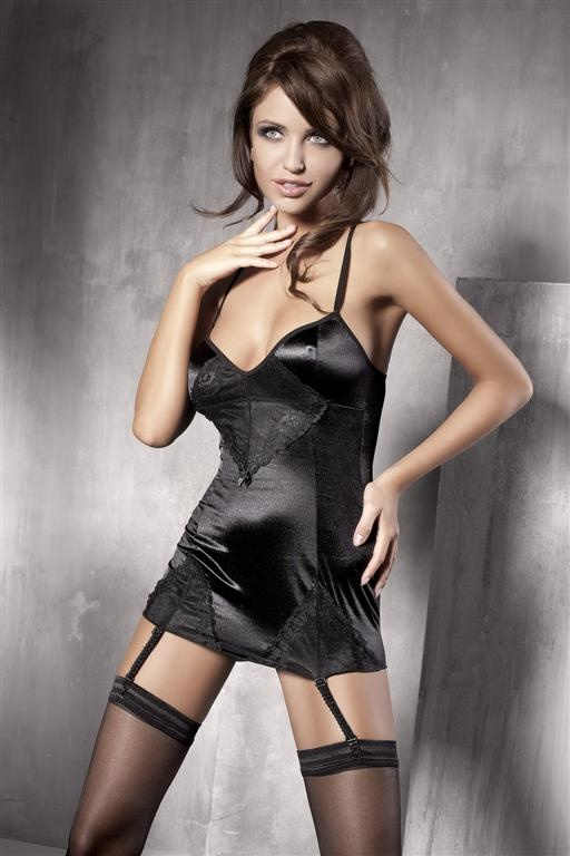 Košilka Anais Fleur barva: černá, velikost: S