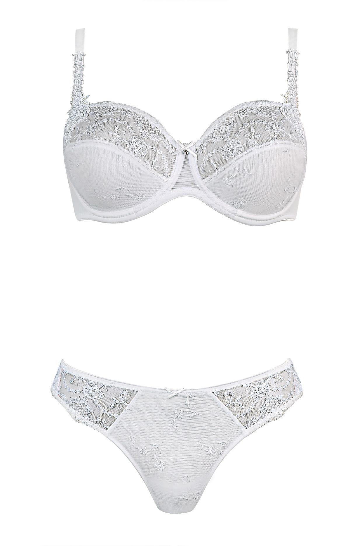 Podprsenka s kosticí 80516-Felina barva: bílá, velikost: 80F