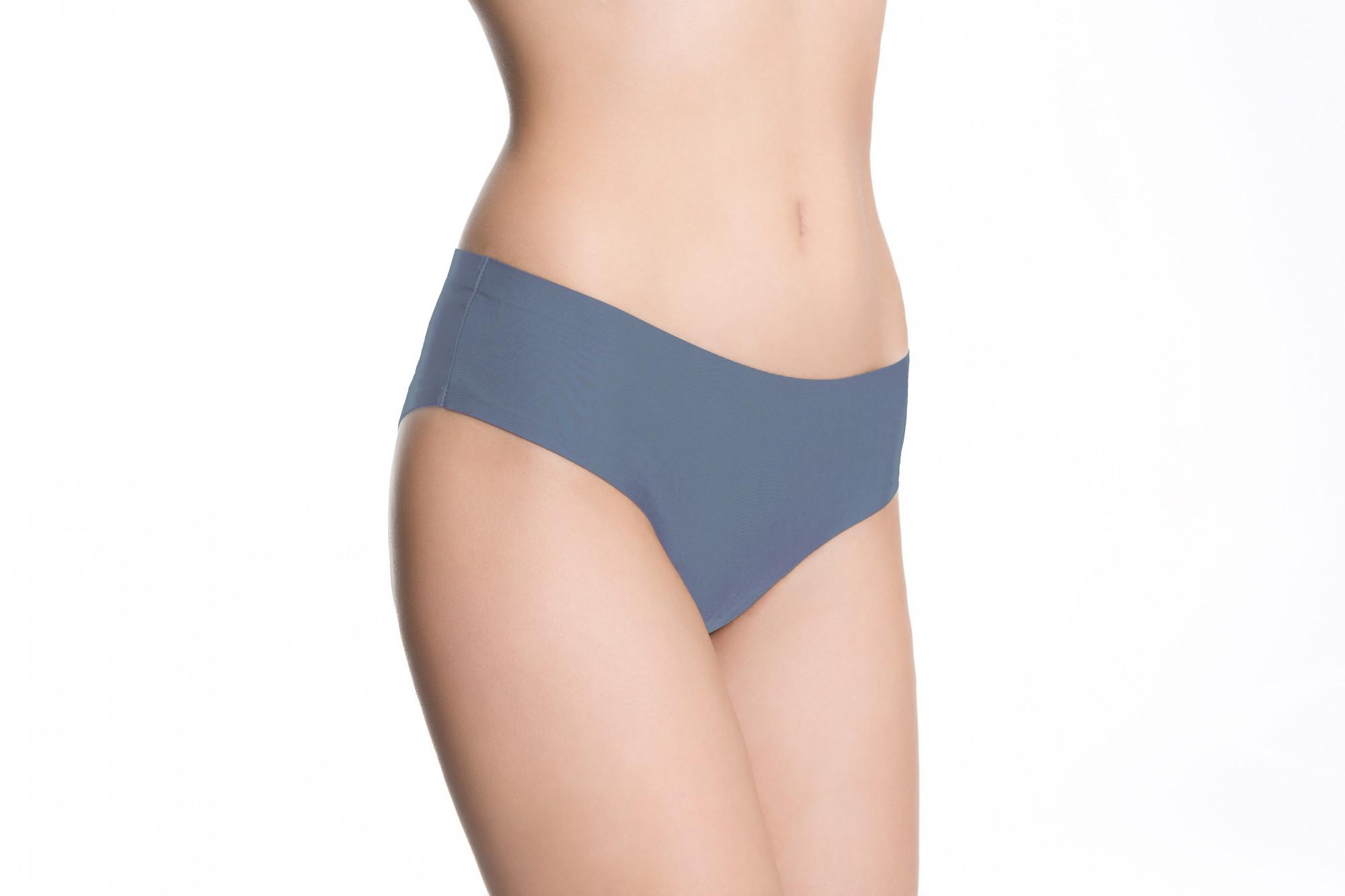 Kalhotky Bootie - Julimex denim modrá XL