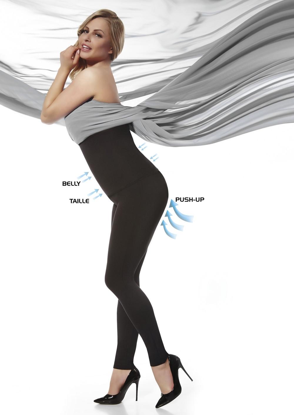 Legíny Bella - Bas Bleu černá M