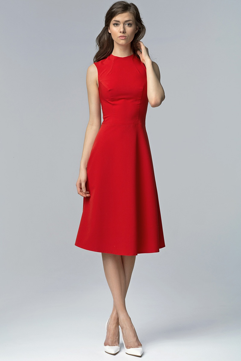 Dámské šaty S62 - Nife ecri(krémová) 40