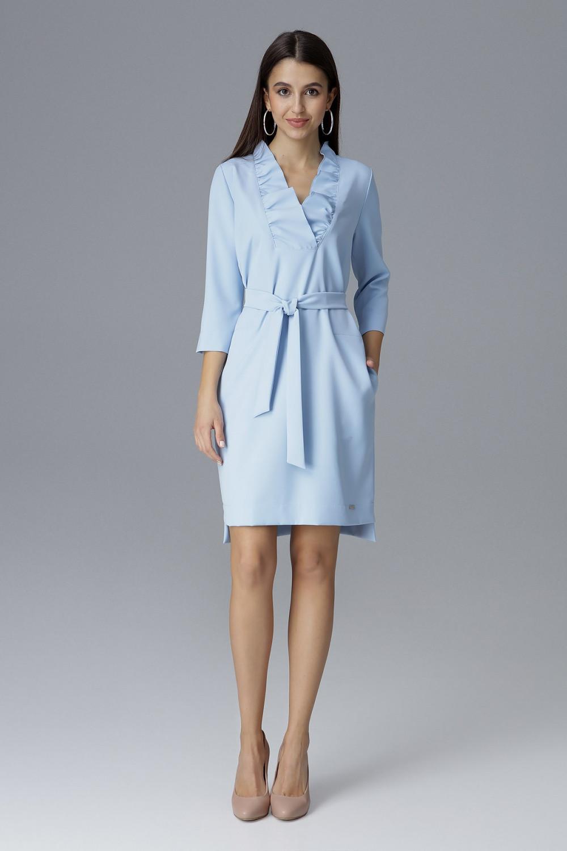Dámské šaty M644 - Figl tmavě modrá M