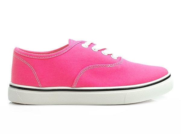 Zářivé růžové tenisky 41