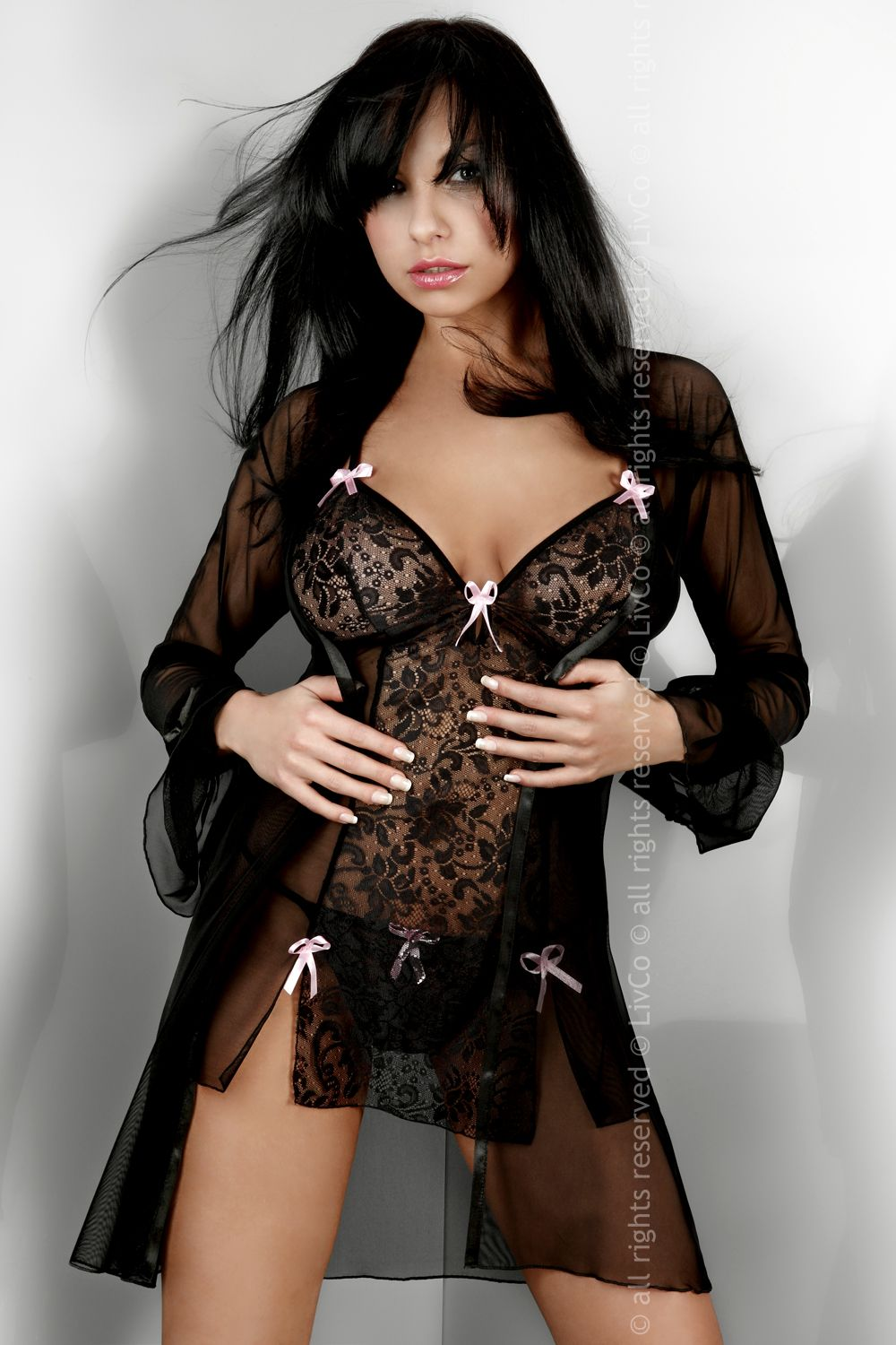 Župany model 22327 Livia Corsetti Fashion L/XL
