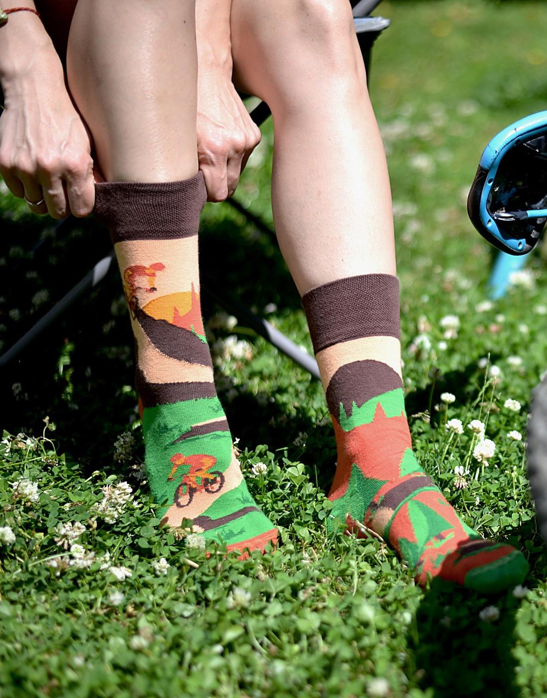 Ponožky Spox Sox - Jízdní kola multikolor 40-43