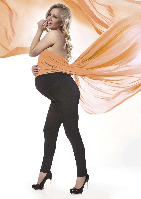 Těhotenské legíny Stefanie černá S