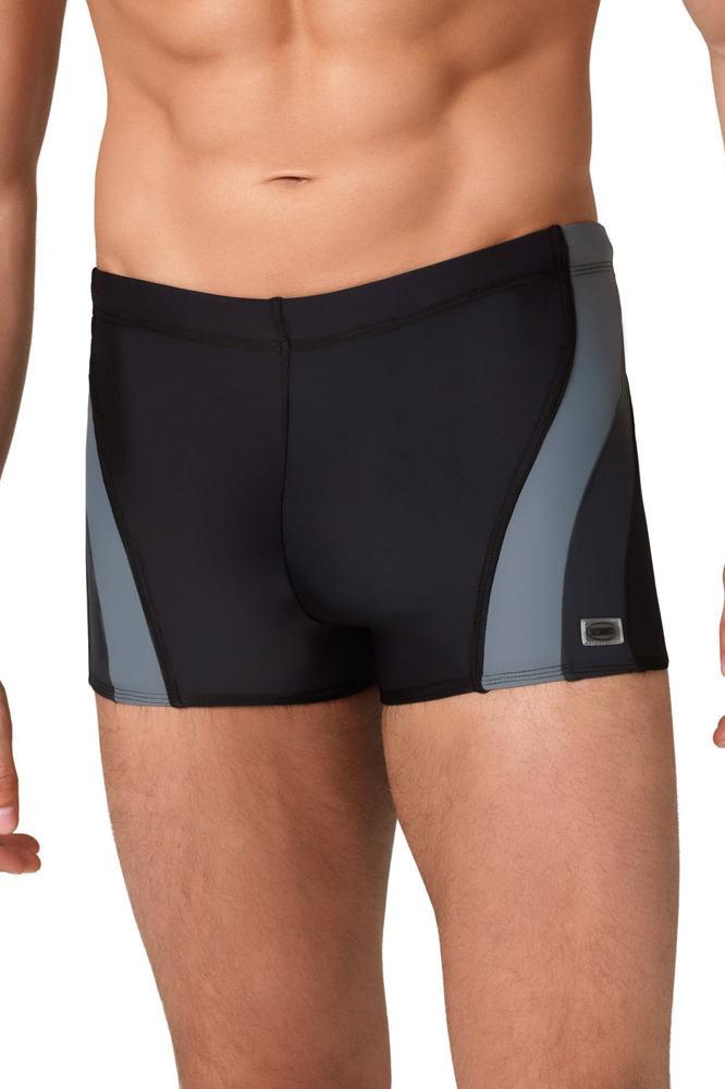 952a09739 Pánské boxerkové plavky Philip černošedé XXL