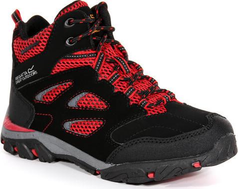 Dětská trekingová obuv REGATTA RKF573 Holcombe IEP Jnr Černé 33