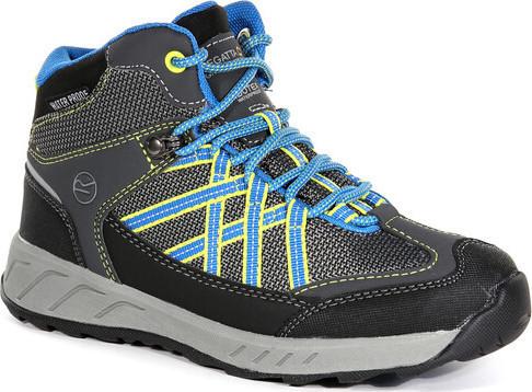 Dětská trekingová obuv REGATTA RKF509 Samaris Mid Modrá 33