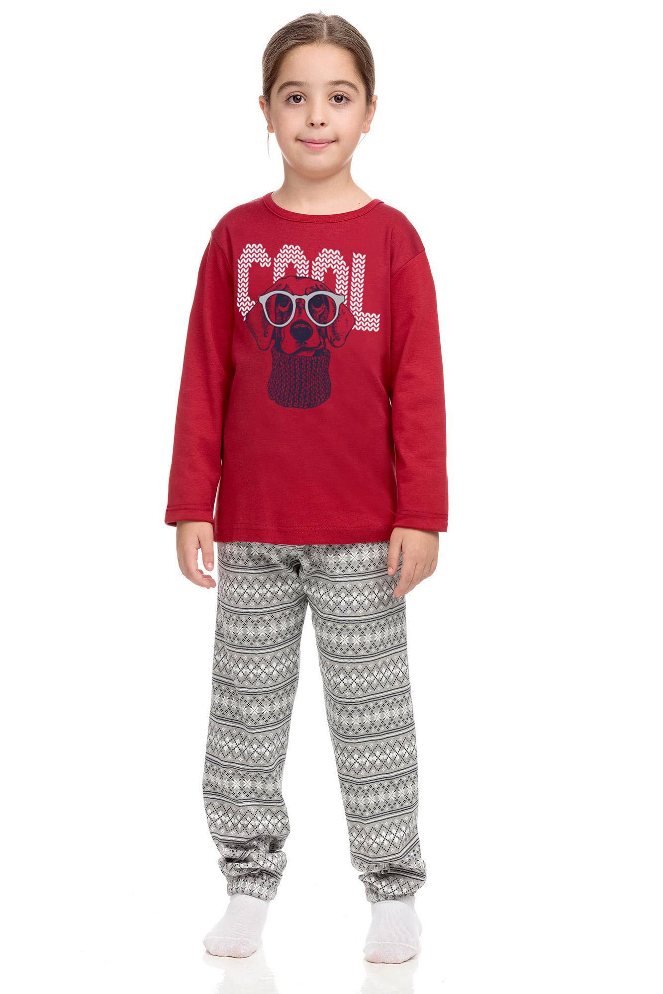 Vamp - Pohodlné dětské pyžamo RED FLAME XL 15680 - Vamp