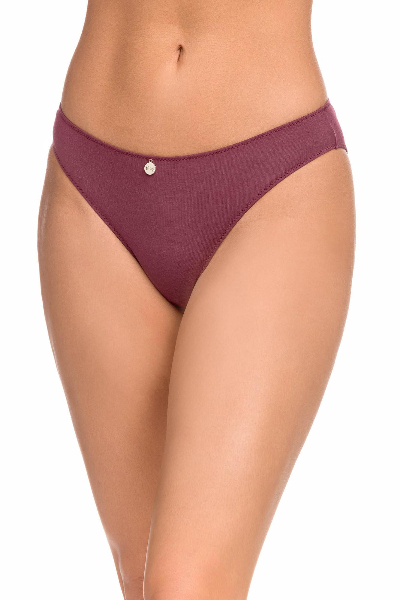 Vamp - Pohodlné jednobarevné dámské kalhotky RED PORTO XL 15830 - Vamp