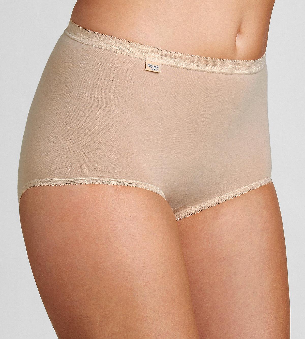 Kalhotky Sloggi Basic+ Maxi 2P tělová Velikost do filtru: 38, Barva Triumph: tělová (0026)