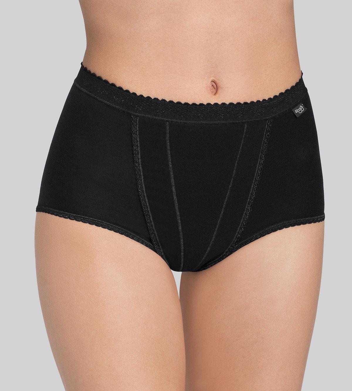 Kalhotky Sloggi Control Maxi černá Velikost do filtru: 46, Barva Triumph: černá (0004)