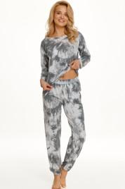 Dlouhé dámské pyžamo 2554 PENNY Zima 2021