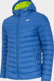 Pánská  prošívaná bunda 4F KUMP002 Modrá