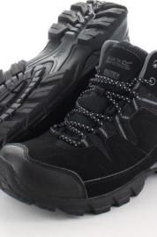 Pánská obuv Regatta RMF459 HOLCOMBE MID Black/Granit