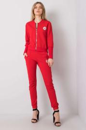 Sada dámské červené bavlny