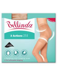Punčochové kalhoty 3 ACTIONS tělová - BELLINDA