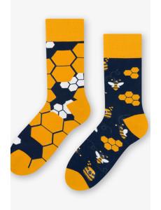 Pánské asymetrické ponožky 079