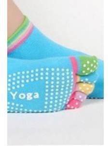 Ponožky s palci - na jógu, barva