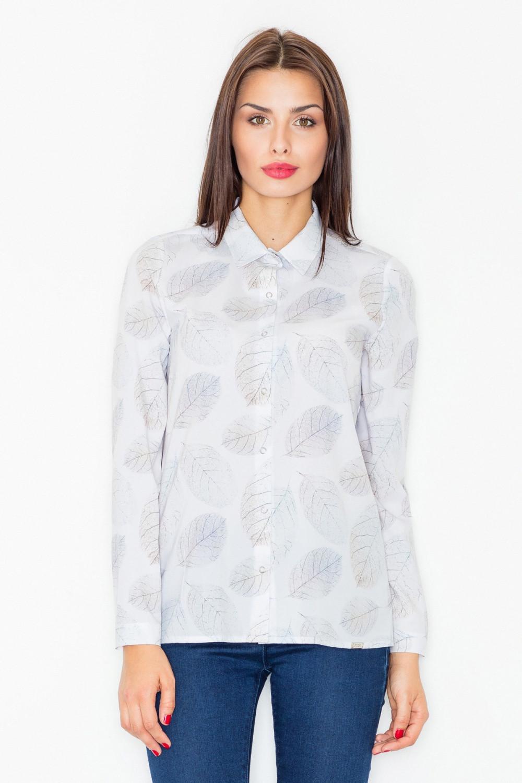 Košile s dlouhým rukávem  model 77131 Figl