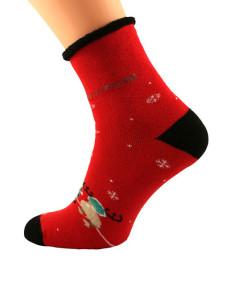 Dámské ponožky Bratex 0907 X-Mass Socks