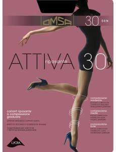 Dámské punčochové kalhoty Omsa Attiva 30 den S-XL