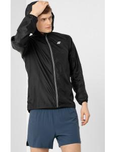 Pánská běžecká bunda 4F KUMTR010 Černá
