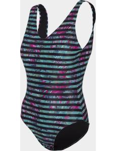 Dámské jednodílné plavky KOSP003 Černé barevné