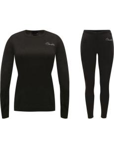 Dámské termo prádlo DARE2B  DWU308 Wool B/Layer Set Černé