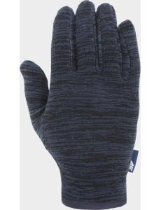 Fleecové rukavice 4F  REU302 Modré