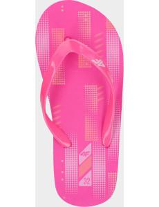 Dívčí žabky 4F JKLD200 Růžové