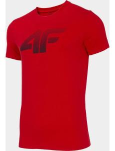 Pánské tričko 4F TSM302 Červené