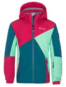 Dětská lyžařská bunda Saara-jg tyrkysová