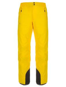 Pánské lyžařské kalhoty Gabone-m žlutá - Kilpi