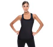 Active-Fit Dámská sportovní košilka se širokým ramínkem ACTVE.FIT Barva: Černá, Velikost: