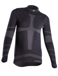 Dětské termo triko s dlouhým rukávem IRON-IC - černá Barva: Černá, Velikost: