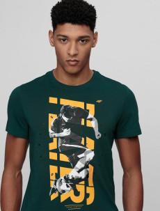 Pánské tričko 4F TSM011 zelené