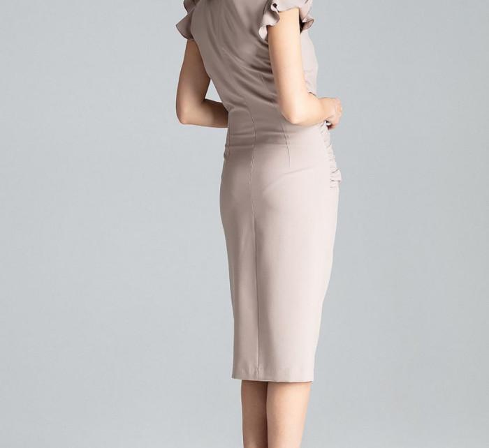 Koktejlové šaty model 130949 Lenitif