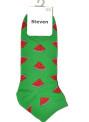 Pánské kotníkové ponožky Steven art.025