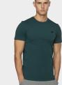 Pánské bavlněné tričko 4F TSM300 Zelené mořské