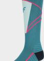 Dámské lyžařské ponožky 4F SODN200 Zelené (mořská)