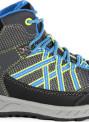 Dětská trekingová obuv REGATTA  RKF509  Samaris Mid Modrá