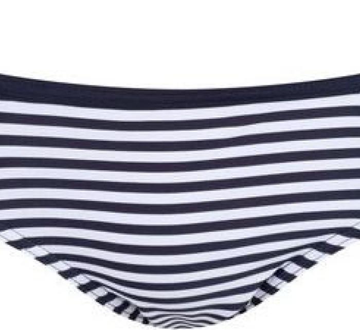 Dámský spodní díl plavek RWM006 Aceana Bikini Brief Modré proužek