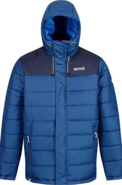 Pánská zimní bunda REGATTA RMN137 Nevado III Modrá