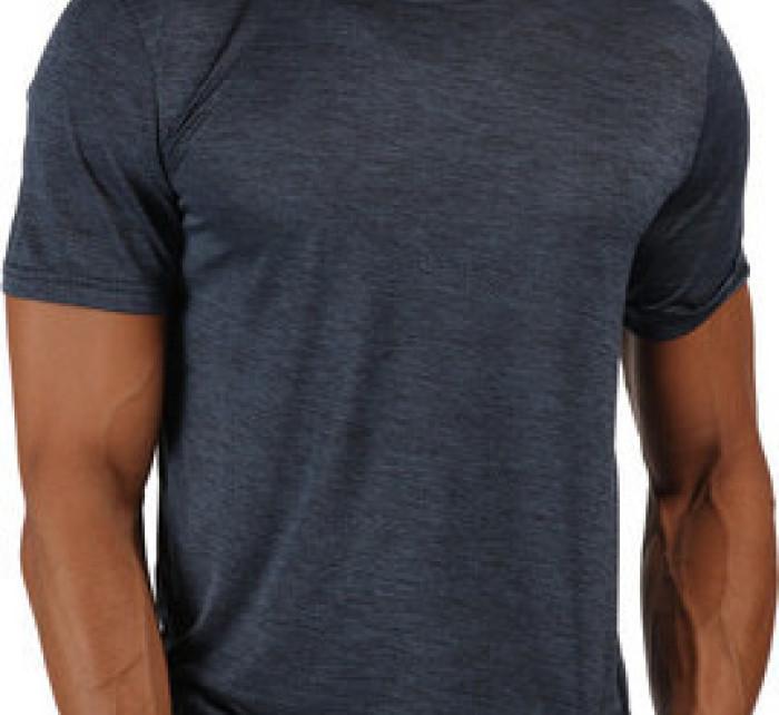 Pánské funkční tričko RMT216 REGATTA Fingal V  Tmavě modré