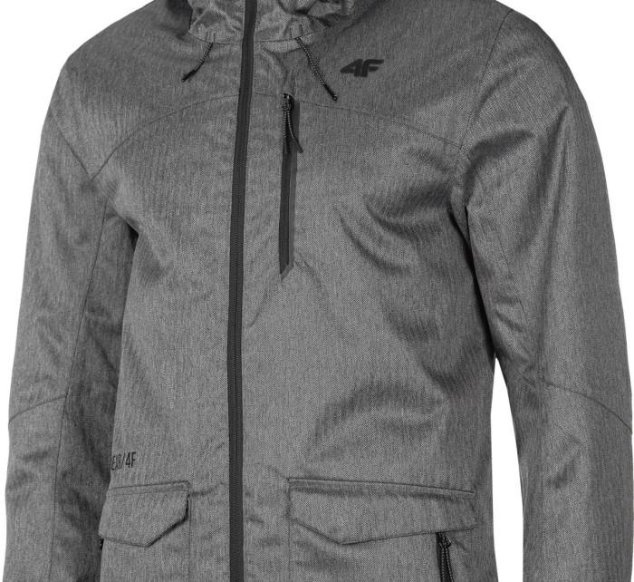 Pánská městská bunda 4F KUM006 Šedá