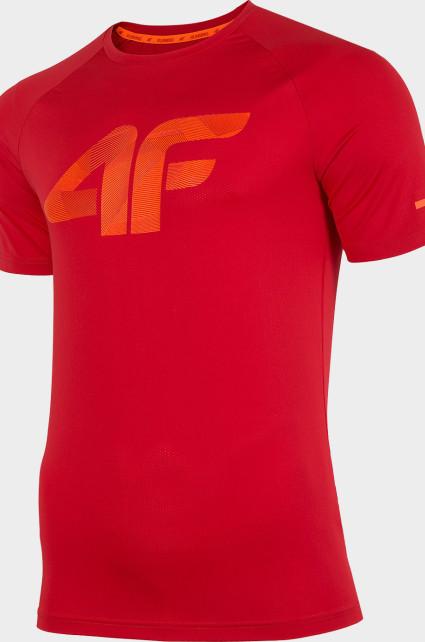 Pánské funkční tričko 4F TSMF273 Červené