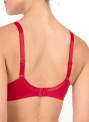 Conturelle Provence podprsenka s kosticí tango červená