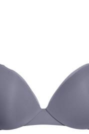 Dámská podprsenka QF1738E-CDQ šedá - Calvin Klein